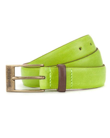 Ted Baker Belt Colour Block brightr bright colour block belt lime s ted