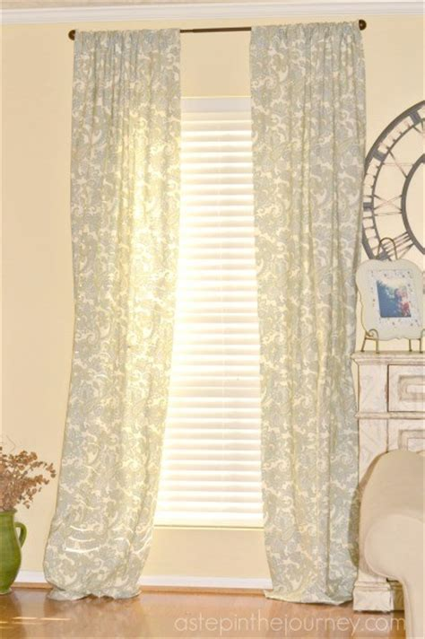 diy curtains from sheets the inspiration gallery