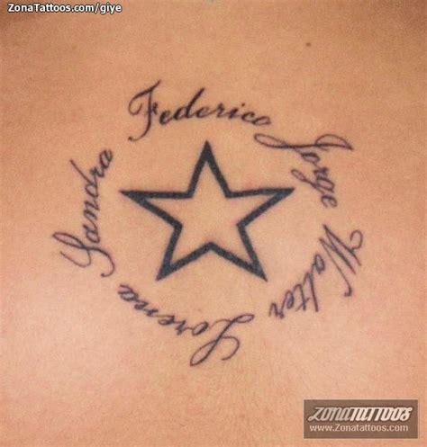 imagenes tatuajes estrellas tatuajes de nombres y estrellas imagui