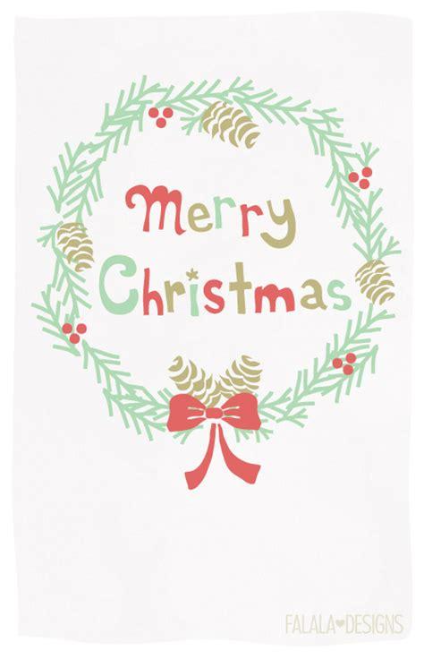 little printable christmas cards falala designs christmas wreath card