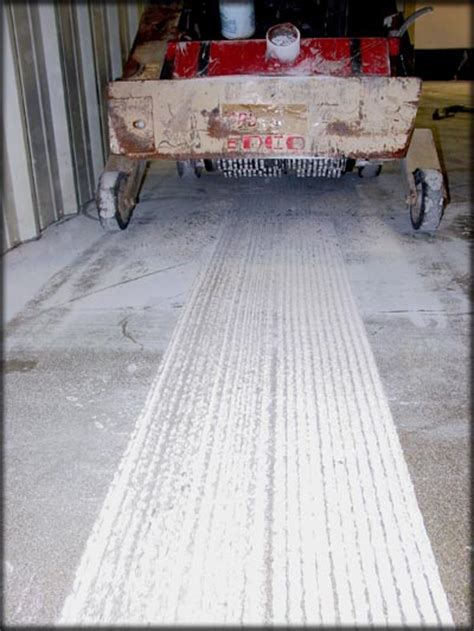 Scarification of Concrete Flooring