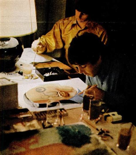 ringo starr japan ringo and paul painting in japan here they are the