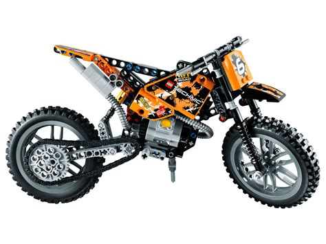 technic motocross bike moto cross bike 42007 technic brick browse shop 174