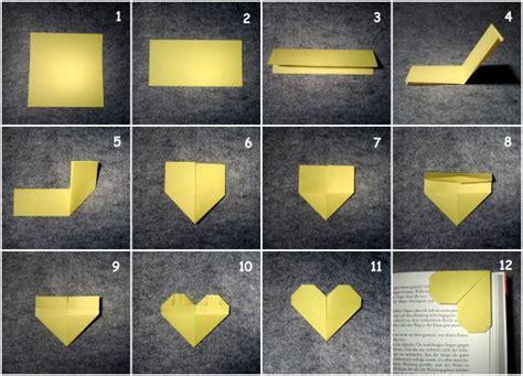 Origami Bookmark Tutorial - best 25 bookmark ideas on oragami