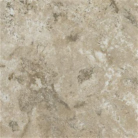 armstrong 12 in x 12 in peel and stick travertine bisque