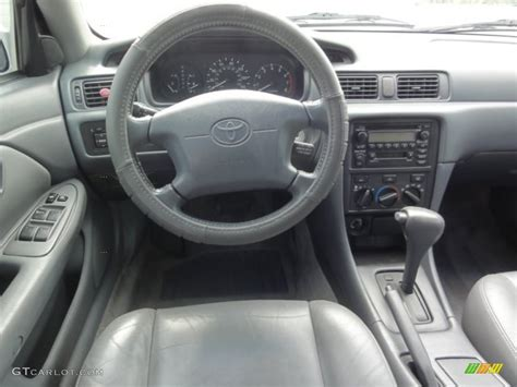 2000 Toyota Camry Interior 2000 Toyota Camry Le Gray Dashboard Photo 66278457