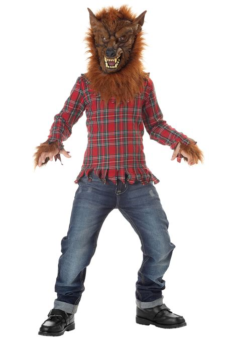 wolf costume deluxe costume