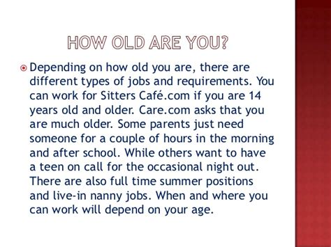 Ways For 14 Year Olds To Make Money Online - babysitting jobs for 14 year olds