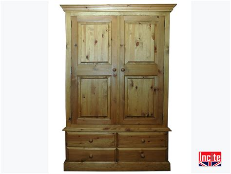 Tailor Made Wardrobes by Tailor Handmade Farmhouse Solid Pine Wardrobes By Incite
