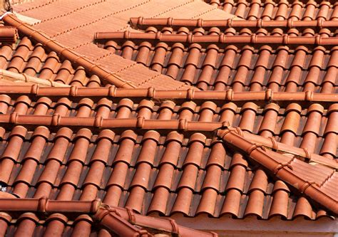 Ceramic Tile Roof How To Lay Clay Roof Tiles Ebay