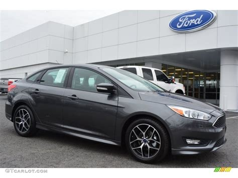 ford focus colors 2015 magnetic metallic ford focus se sedan 101726263