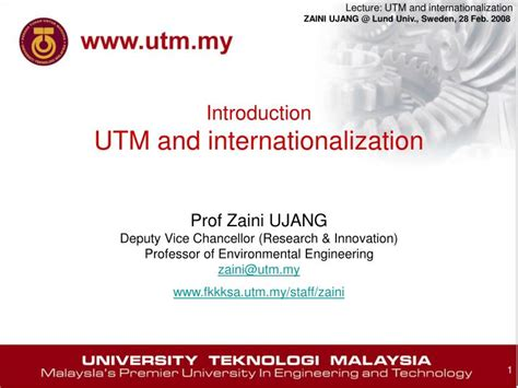 utm powerpoint template ppt introduction utm and internationalization powerpoint