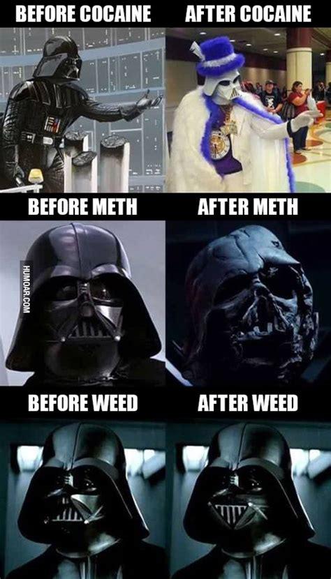 Darth Vader Nooo Meme - drugs before and after funny www pixshark com images