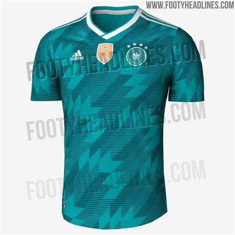 Jersey Kid German Away germany 2018 world cup away kit leaked footy headlines
