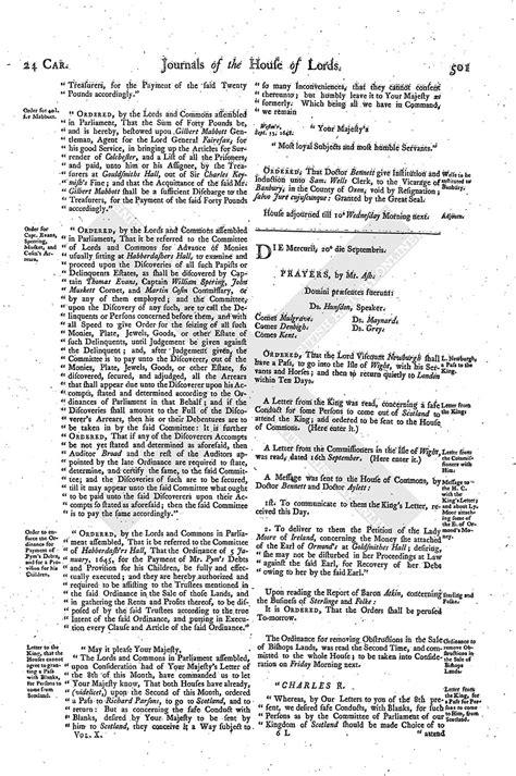 mla letter format house of journal volume 10 20 september 1648 1767