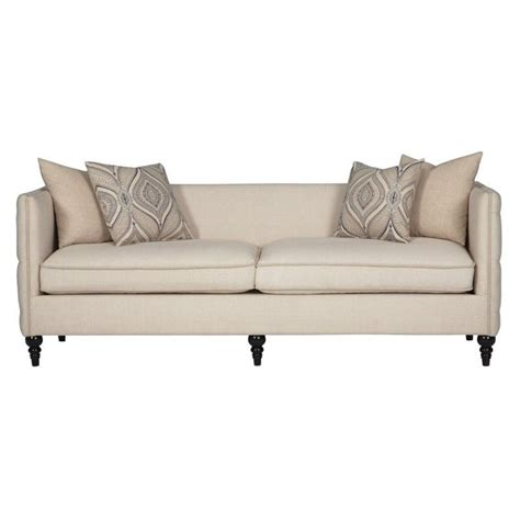 tufted fabric sofa coaster claxton tufted fabric sofa in beige 504891
