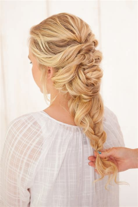 Wedding Hair Braid How To by Braid Twist Tutorial The Link Wedding