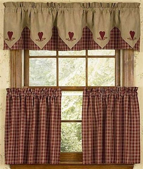 Photo Of Cafe Style Curtains For Kitchen Double Click On Primitive Kitchen Curtains