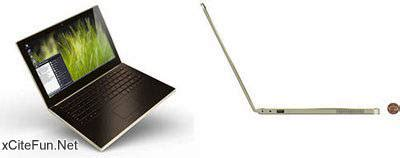 Intel Metro Worlds Thinnest Laptop by Intel Mobile Metro Worlds Thinnest Notebook Xcitefun Net