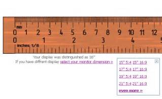 how to measure mm on computer iruler displays a ruler on your computer screen