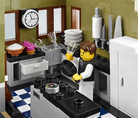 lego kitchen 2014 lego parisian restaurant 10243 modular building photo