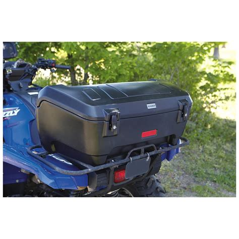 Atv Front Rack Box by 174 Deluxe Atv Rear Box 228545 Racks Bags At
