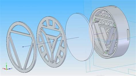 3d arc reactor schematics 3d get free image about wiring