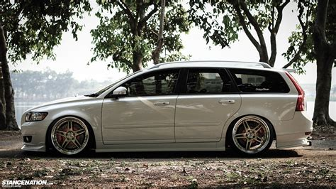 volvo  stationwagon tuning custom wallpaper   wallpaperup