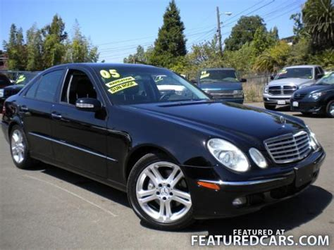 how to learn about cars 2005 mercedes benz s class parking system 2005 mercedes benz e class hayward ca used cars for sale featuredcars com