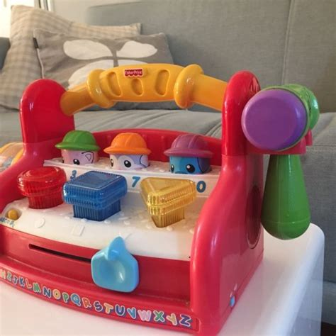 fisher price baby tool bench fisher price laugh and learn tool bench toddler baby toy