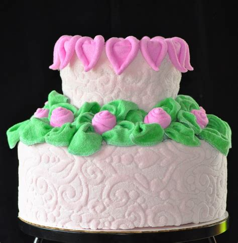 heart pattern cake heart washcloth instructional video diaper cake patterns