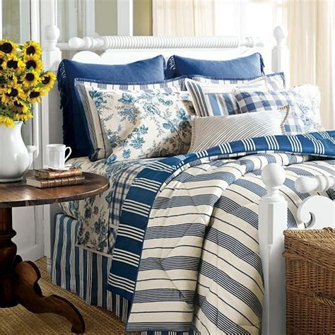 chaps bedding chaps by ralph lauren marbury blue cream stripe standard