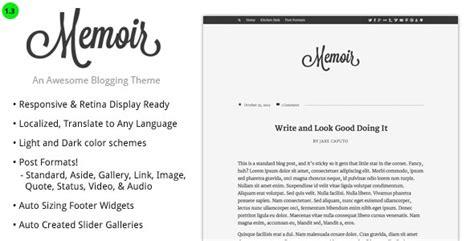 memoir a premium blog magazine wordpress theme free