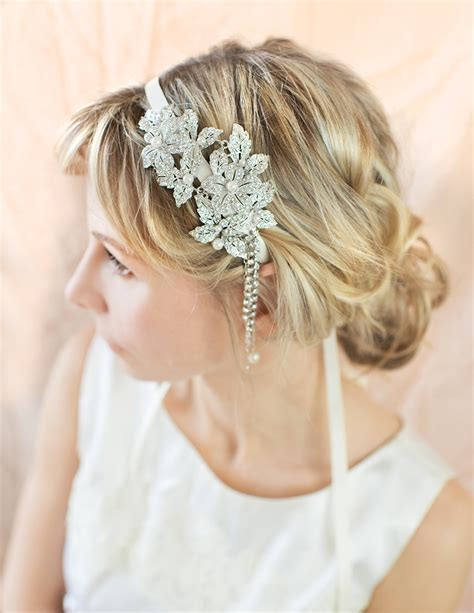 1920 Wedding Hairstyles by 1920s Gatsby Inspired Wedding Hairstyles Modwedding