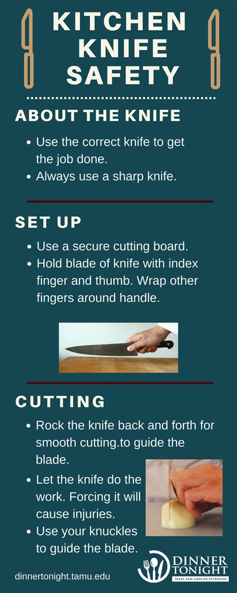 knife safety tips kitchen knife handling and safety kitchen knife safety dinner tonight