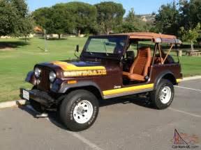 1981 jeep cj7 renegade 23 092 original miles california car photo