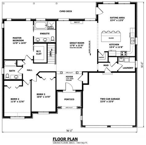 bungalow floor plans canada garage plans canada shed builder