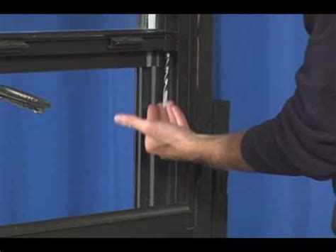 Fixing Springs by Window Repair Replacing A Spiral Window Balance In A Non