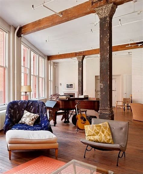 chic home design nyc inspiring shabby chic loft with rustic and bohemian