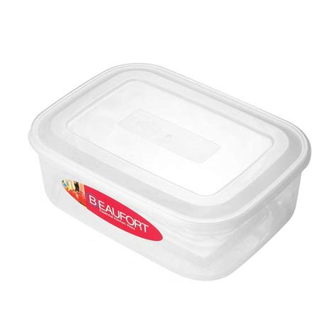 rectangular food storage containers beaufort 4 5lt rectangular food container buy at