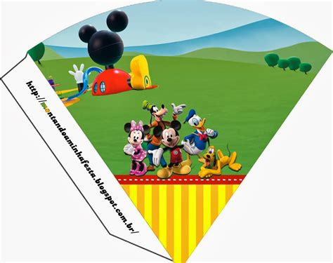 mickey clubhouse invitations and party free printables is it