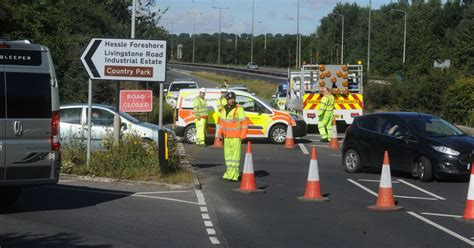 hull daily news online hull events hull daily mail updates as serious accident closes a63 under humber bridge