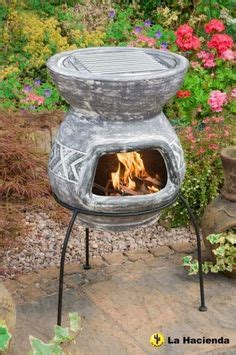 mini chiminea candle holder chimineas on clay summer barbecue and candle