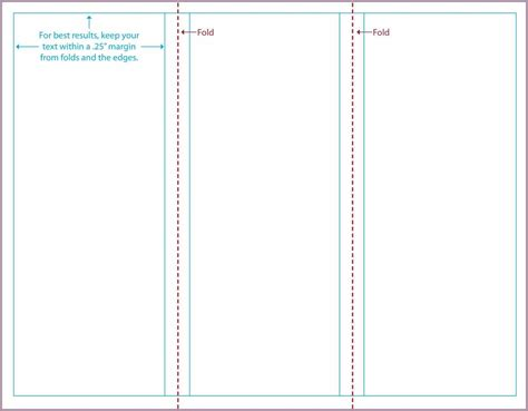 doc 630445 blank tri fold brochure template for