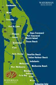 Map Of Brevard County Florida by Brevard County Real Estate Including Melbourne And The Beaches