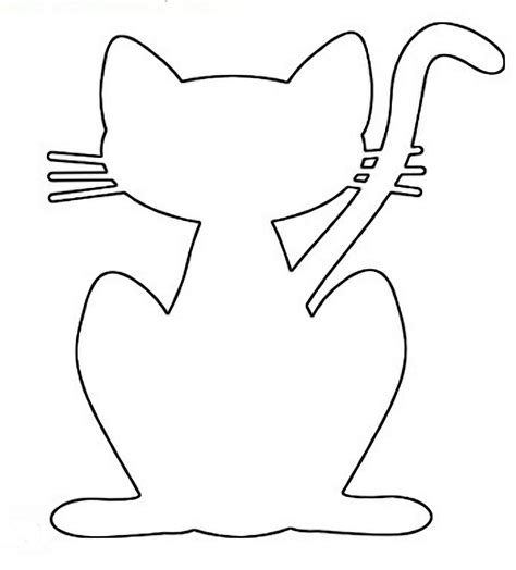 scroll saw patterns to print make cat a plywood cutout