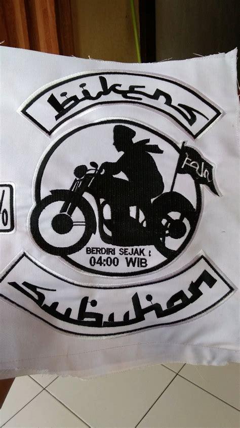 jual logo bordir bikers subuhan  lapak liquidstock