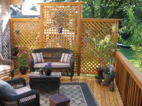 deck privacy lattice using lattice for privacy on a deck image mag