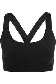 Vogo Stretch Jersey Sport Bra bras net a porter