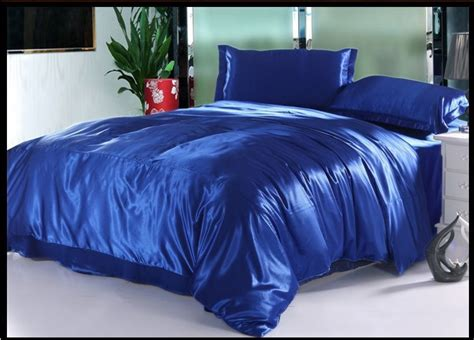 king size blue comforter sets royal blue natural silk bedding set luxury cal king size